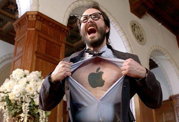 Az iPhone fanatikus