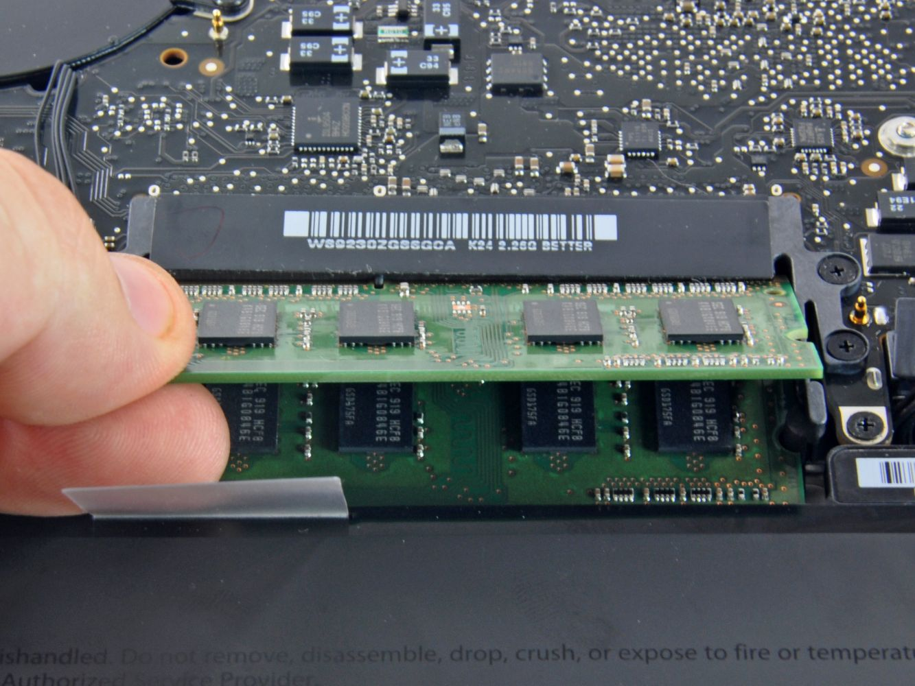MacBook RAM csere